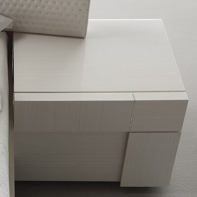 Domino 1 Drawer Nightstand Orientation: Left