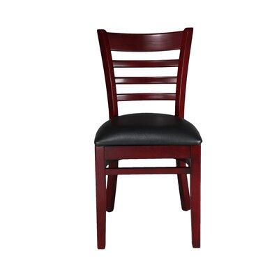 Side Chair Finish: Mahogany