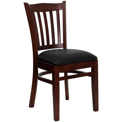 Hybrid Side Chair Finish: Mahogany