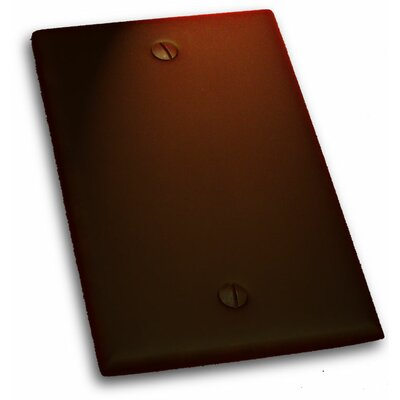 Single Blank Plate Finish: Venetian Bronze
