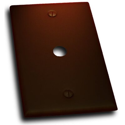 Single Cable Plate (Set of 3) Finish: Venetian Bronze