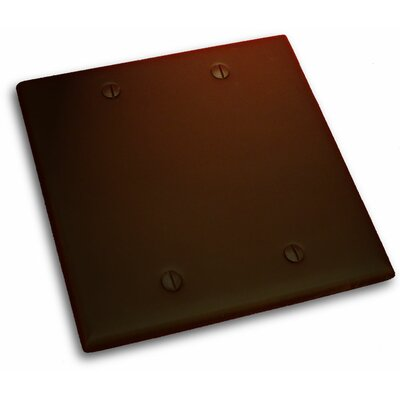 Double Blank Plate Finish: Venetian Bronze