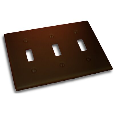 Triple Switch Plate Finish: Venetian Bronze