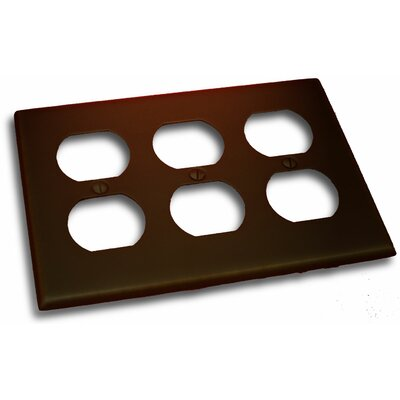 Triple Recep Plate Finish: Venetian Bronze
