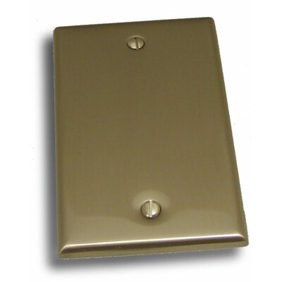 Single Blank Plate Finish: Satin Nickel