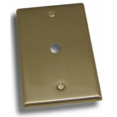 Single Cable Plate Finish: Satin Nickel