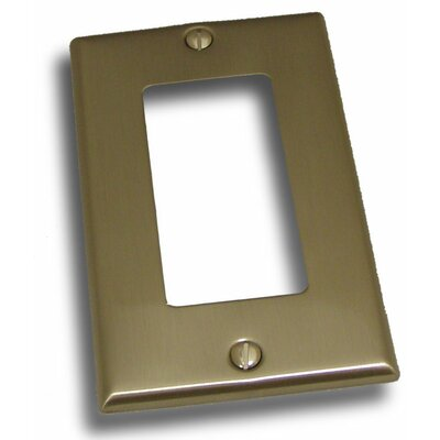 Single Rocker Plate Finish: Satin Nickel