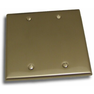 Double Blank Plate Finish: Satin Nickel