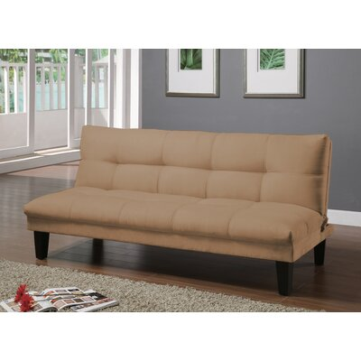 Gages Futon Convertible Sofa Upholstery: Desert
