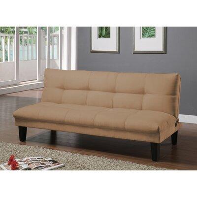 Gages Futon Convertible Sofa Upholstery: Desert