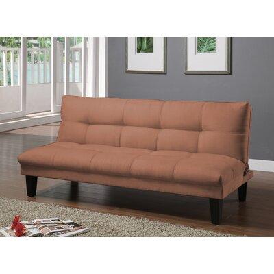 Elvia Futon Convertible Sofa Upholstery: Cinnamon