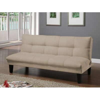 Gages Futon Convertible Sofa Upholstery: Wheat