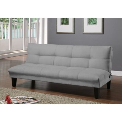 Gages Futon Convertible Sofa Upholstery: Storm