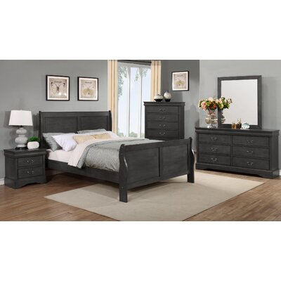 Beckenham Queen Panel 5 Piece Bedroom Set