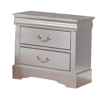 Castlebourne 2 Drawer Nightstand
