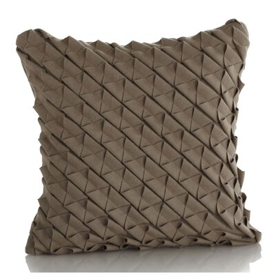Jaxon Wool Throw Pillow Color: Oatmeal