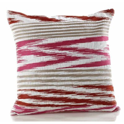 Ryan Cotton Throw Pillow Color: Manderine