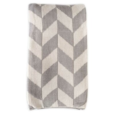 Charles Cotton Throw Color: Mist