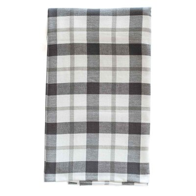 Kingsley Organic Cotton Throw Color: Fog