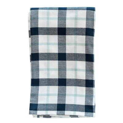 Kingsley Organic Cotton Throw Color: Navy