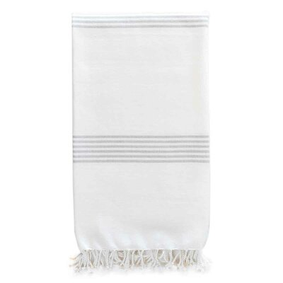 Hudson Organic Cotton Throw Color: Fog