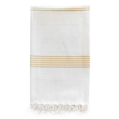 Hudson Organic Cotton Throw Color: Citron