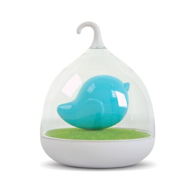 Birdcage Night Light Color: Blue