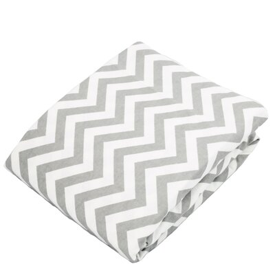 Brittani Flannel, Chevron Bassinet Fitted Sheet HBEE2941 40059018