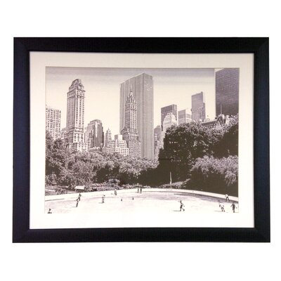 Skating Modern By Richard Roffman Framed Photographic Print