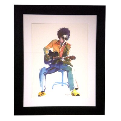 Strumming Modern By Jeeyun Lee Framed Painting Print