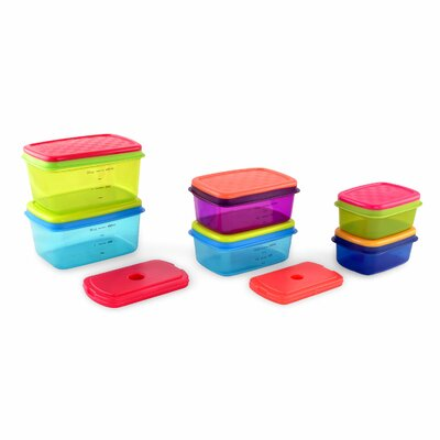 Soft Touch 6 Container Food Storage Set 857KFF