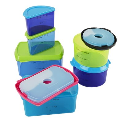 Kid's 6 Container Food Storage Set 357KFF