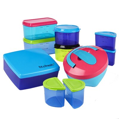 25-Piece Kid's Lunch Container Set 359KFF