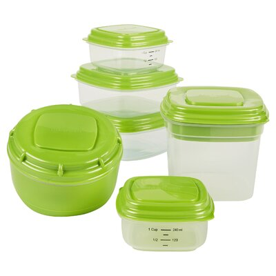 Fresh Selects 6 Container Food Storage Set 432FF