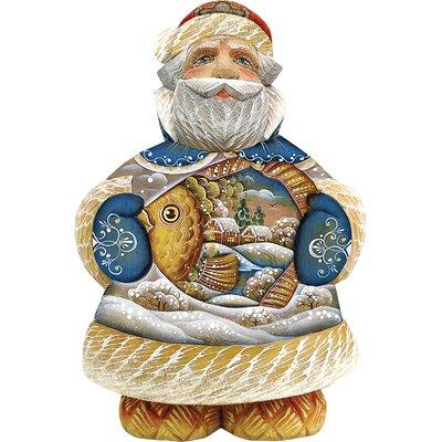 Derevo into the Village Santa Figurine 518201