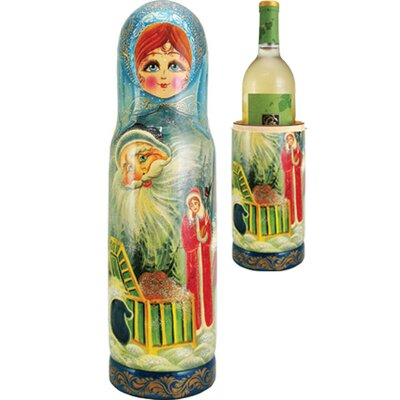 Russia Fairy 1 Bottle Taletop Wine Rack
