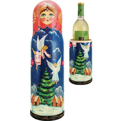 Fifer Angels 1 Bottle Tabletop Wine Rack