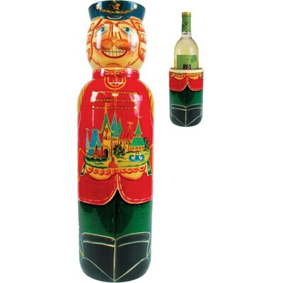 Fifer Nutcracker 1 Bottle Tabletop Wine Rack