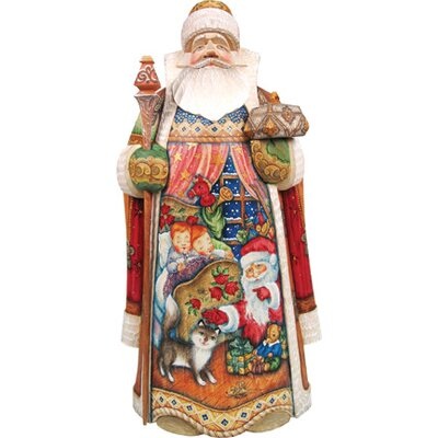 Masterpiece Signature All Through The House Santa Figurine 215821