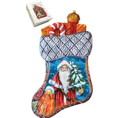 Derevo Christmas Angels Stocking Ornament