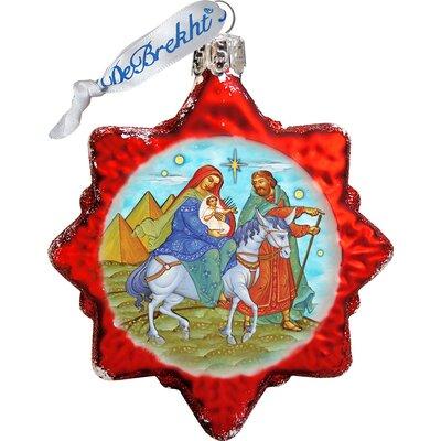 Keepsake Nativity Glass Ornament 777021