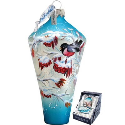 Winter Birds Diamond Ornament