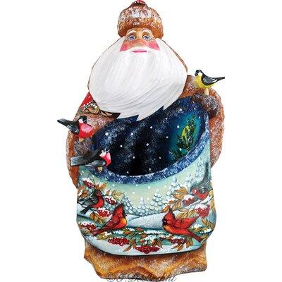 Masterpiece Santa's Song Birds Figurine