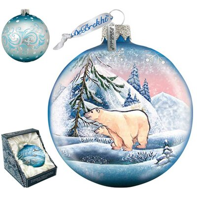Polar Ice Ball Ornament 73411