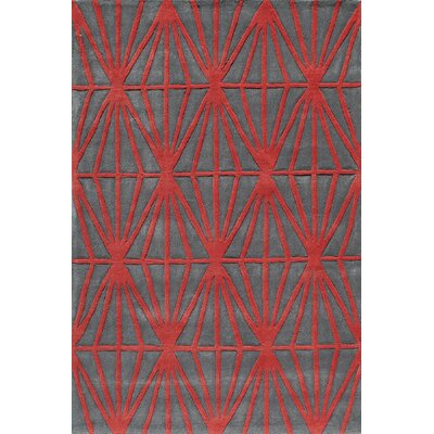 Bliss Red Area Rug Rug Size: 8' x 10' BLISSBS-13RED80A0