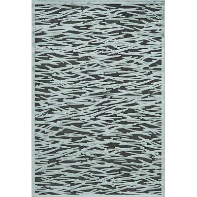 Platinum Teal Area Rug Rug Size: 5' x 7'6