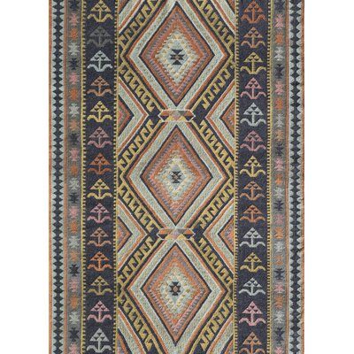 Dakota Hand-Woven Brown Area Rug Rug Size: Runner 23 x 8