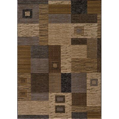 Sherill Gray Area Rug Rug Size: 53 x 76