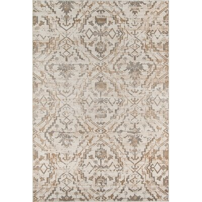 Ronin Copper Area Rug Rug Size: 7'6