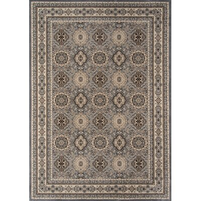 Mira Monte Gray Area Rug Rug Size: Rectangle 910 x 136